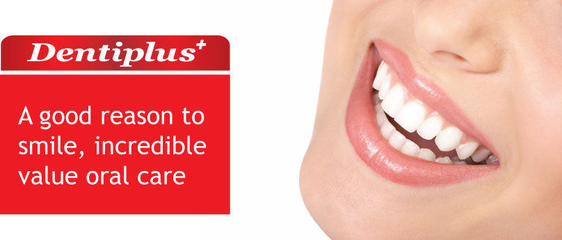 Dentiplus Oral Care Mouthwash Banner
